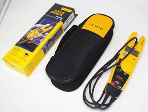 Fluke T5 600 Soft Case Kch16 Clamp Continuity Current Electrical Tester