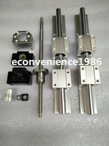 Anti backlashed Ballscrew Rm1605 1250mm Sbr20 1200mm Liner Rail bk bf12 Kits