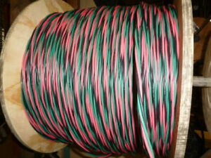500 Ft 10 2 Wg Submersible Well Pump Wire Cable Solid Copper Wire