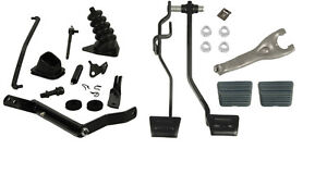 1971 Or 1972 Chevelle El Camino Master Clutch Linkage Kit With Pedals