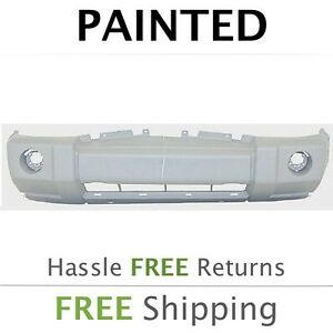 New 2006 2007 2008 2009 2010 Jeep Commander W Crm Front Bumper Cover Painted