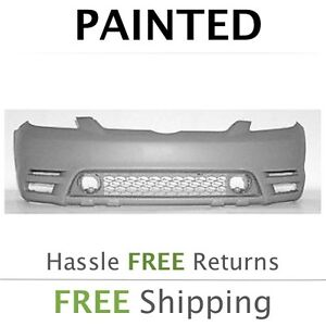 New Fits 2003 2004 Toyota Matrix W o Spoiler Front Bumper Cover Painted
