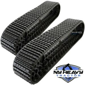 277d 287d 297d New Rubber Track X2 Cat 3258625 Caterpillar 325 8625 Oem Tread