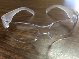 12 Pair Of Clear 2 5 Diopter Bifocal Reader Safety Glasses New