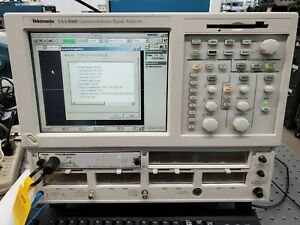 revised Powered Up Tektronix 80c08c Optical Sampling Module 700 1650 Nm
