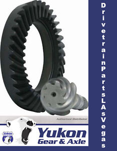 Yukon Ring Pinion Gear Set 10 5 14 Bolt Truck In A 3 42 Ratio For Gm Chevy