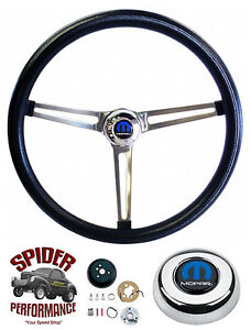 1965 1966 Coronet Steering Wheel 15 Stainless Muscle Car Grant Steering Wheel