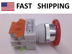 Industrial Controls Emergency Shut Off Switch Push Button Max 600v 10a New