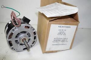 Ao Smith 1 3hp Ac Motor Heh289n 115vac 60hz 6 15amps 1075 Rpm New