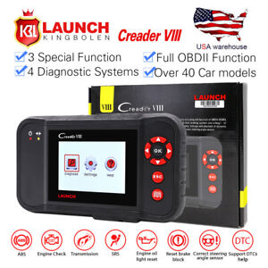 Launch X431 Creader Viii Code Reader Eng at abs srs Epb Sas Oil Service Reset