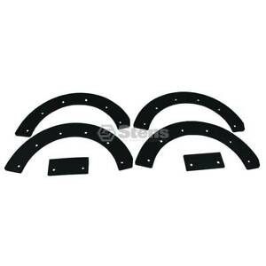 Stens 780 023 Paddle Set Rubber Blade Replacement Kit Snapper 7060631yp