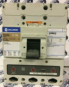 Challenger Cl3600 600 Amp 3 Pole 600 Volt Circuit Breaker Warranty