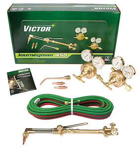 0384 0807 Victor Journeyman 450 Torch Kit Set Ca2460 315fc Sr450d 20 3 16 Hose