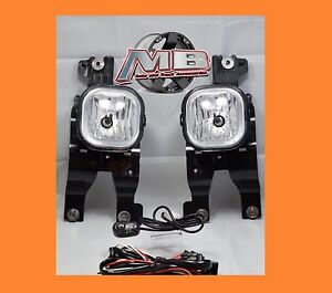 For 2008 2010 Ford F 250 F350 Super Duty Fog Lights Clear Lens Lamp Wiring Kit