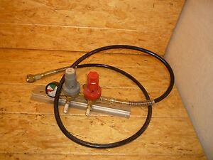 Norgren Syrup And Carbonation Regulator With Mounting Bracket And 2000psi Gauge
