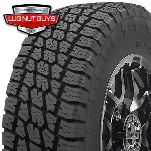 4 New 285 75r16 Nitto Terra Grappler At Tires 285 75r16 8 Ply D 122q