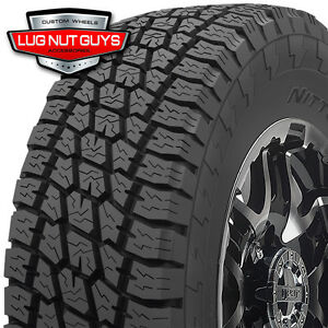 4 New 295 70r17 Nitto Terra Grappler At Tires Lt295 70r17 8 Ply D 123r