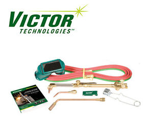8380 Victor Torch Kit Cutting Outfit Ca1350 100fc 4 mfa 1 0 w 1 0 3 101 Tip