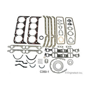 Enginetech Engine Gasket Set C350 1 Rebuilder For 1967 1985 Chevy 350 Sbc