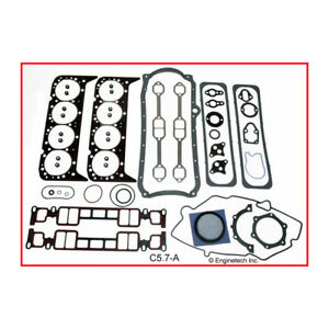 Enginetech Engine Gasket Set C5 7 a Rebuilder For 1996 2002 Chevy 5 7l Vortec