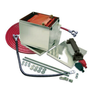 Taylor Battery Relocation Kit 48303 Aluminum 300 Series