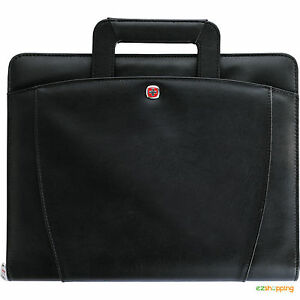 New Black Wenger Business Office Organize Presentation Portfolio Bundle Set