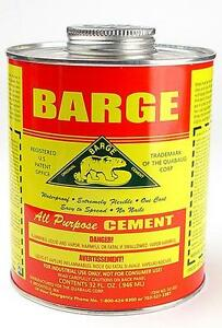 Barge All Purpose Contact Cement Glue Adhesive Rubber Waterproof Applicator 32z