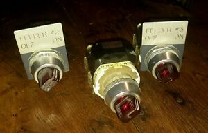 Ab 800t 16hx2kb6 Series T Selector Switch lot Of 3 129