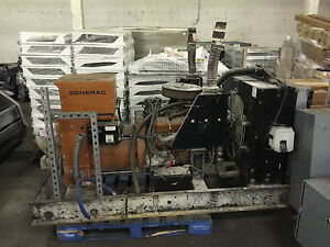 Generac 91a 5 0l Standby Natural Gas Stationary Generator Set