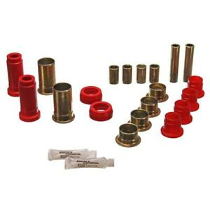 Energy Suspension Control Arm Bushing Kit 4 3130r Red For Ford Pinto Mustang