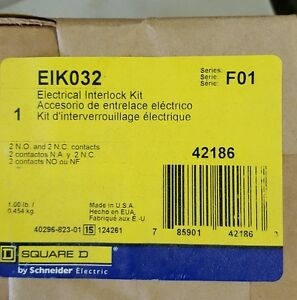 New Eik032 Squared Interlock Kit