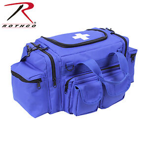 Medic Bag Rothco 2699 Blue Ems Rescue Gear Medic Bag W White Medic Cross Logo