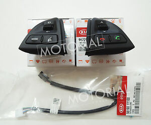 Kia Picanto Morning 2011 2012 2013 2014 Oem Audio Handsfree Switch Wire Set