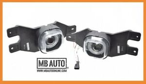 Mba Premier 99 04 Ford F250 01 04 F350 Clear Halo Projector 2pc Fog Lights Lamps