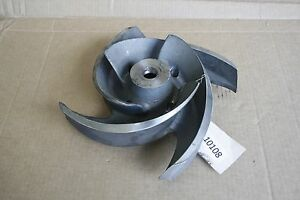 New Goulds Pump Impeller 3175s 4 Vane 4x6 12 C01311a 1203 316ss