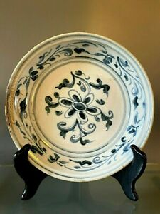 Hoi An Chinese Shipwreck Cargo Floral Dish C 1840
