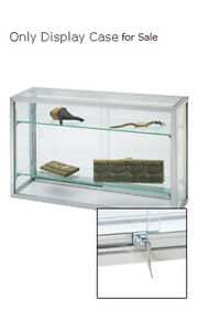 New Retail Upright Glass Countertop Watch Jewelry Display Case 18 h X 8 d X 30 l