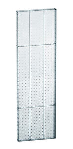 Lot Of 2 New Clear Molded Plastic 13 5 Width X 44 High Pegboard Wall Panels