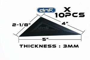 10 Pack Triangular Squeegee Car Window Tint Tool Installation Ships Today