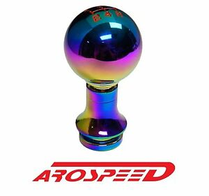Neochrome Round Racing Shift Knob Shift Boot Retainer For Subaru