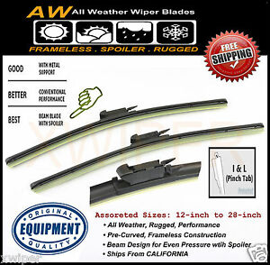 Ford Focus Direct Oe Replacement Premium All Weather Windshield Wiper Blades