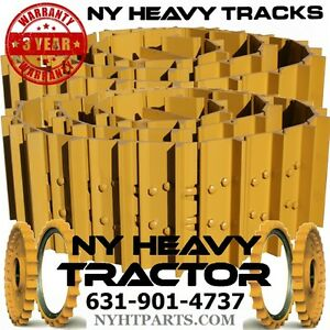 Case 450b Track Groups X2 36 Link Dry Chains W 16 Single Bar Pads Dozer