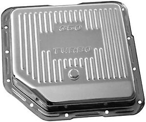 Bandit Automatic Transmission Oil Pan 9122 Finned Chrome Steel For Chevy Th 350