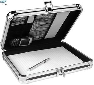 Storage Clipboard Locking Letter Sheets Size Key Lock Document Security Case New