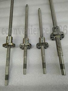 Rm2010 500 1200 1400 1400 Mm Anti backlashed Ballscrews 4 Rm2010 Ballscrew