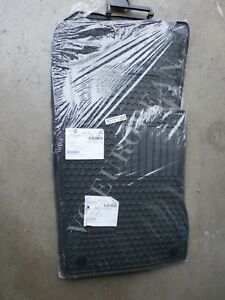Mercedes benz W211 E class Base Genuine All Season Rubber Floor Mat Set New