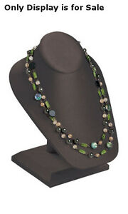 New Retails Chocolate Necklace Display On Stand 6 1 2 l X 7 w X 8 1 4 h