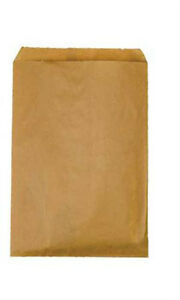 Count Of 1000 Small Natural Kraft Paper Merchandise Bags 6 X 9