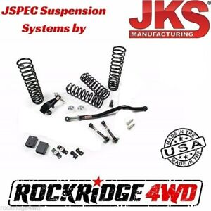 Jspec 3 5 Suspension Lift System For 07 18 Jeep Wrangler Jk 4 Door No Shocks