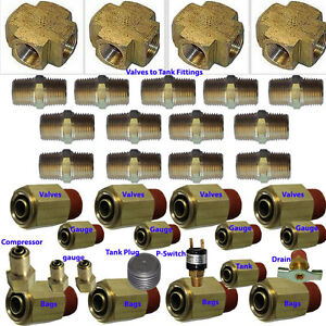 V Xfitx Air Suspension Valve Fit Everything U Need For 8 brass Valves 1 2
